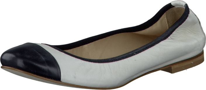 A Pair - 3-434_2 Ballerina Front White/Black