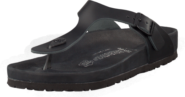 Birkenstock Gizeh Premium Regular Leather Black
