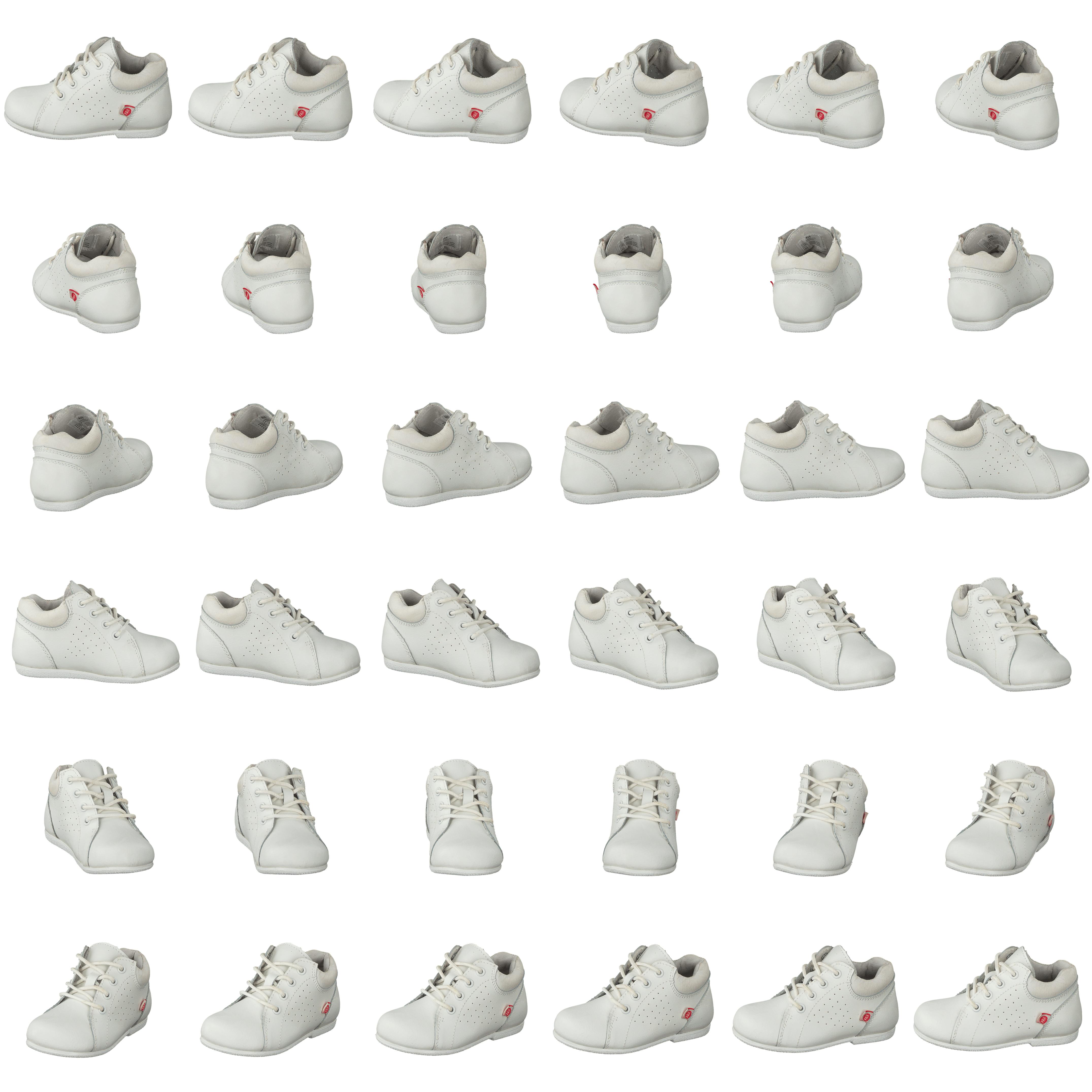 rengöra vita skor