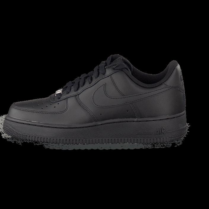 Nike Air Force Svarta