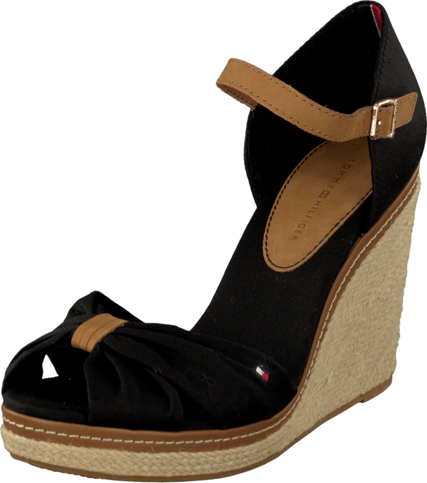 k b tommy hilfiger emery 54d sorte shoes. Black Bedroom Furniture Sets. Home Design Ideas