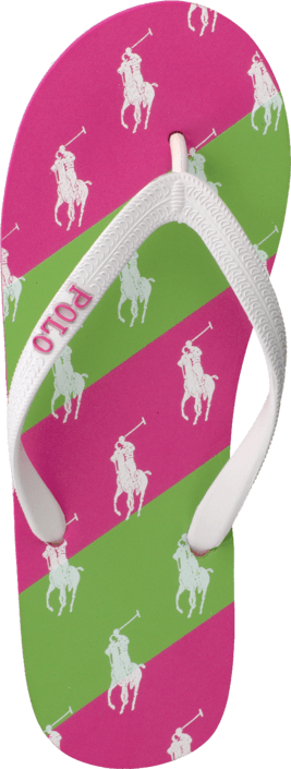 Ralph Lauren Junior - Amino Stripe White/Green/Pink