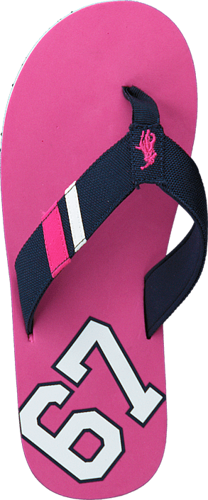 Ralph Lauren Junior Ferry Thong Regatta Pink Cordura