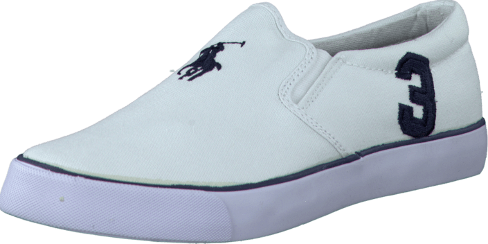 Ralph Lauren Junior - Seth Slip On White/Navy