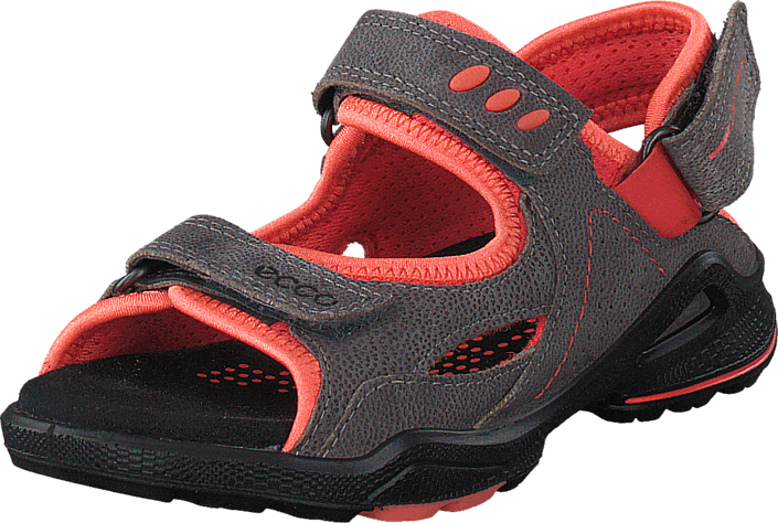 Ecco Biom Sandal Warm Grey/ Coral Blush