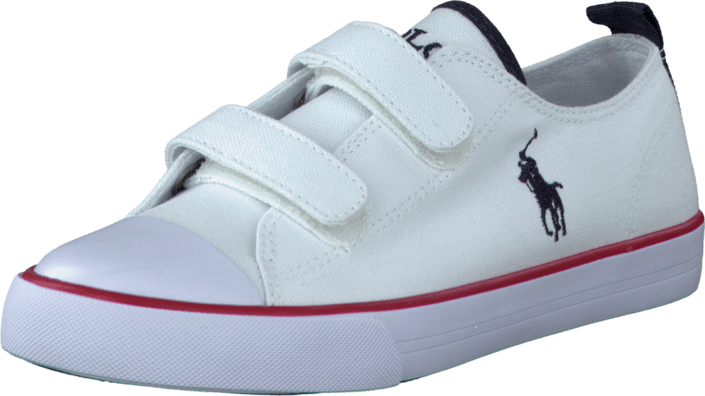 Ralph Lauren Junior - Whereham Low EZ White Canvas