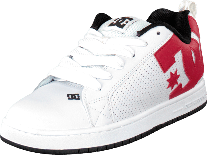 DC Shoes - Court Graffik Shoe White/Redblack