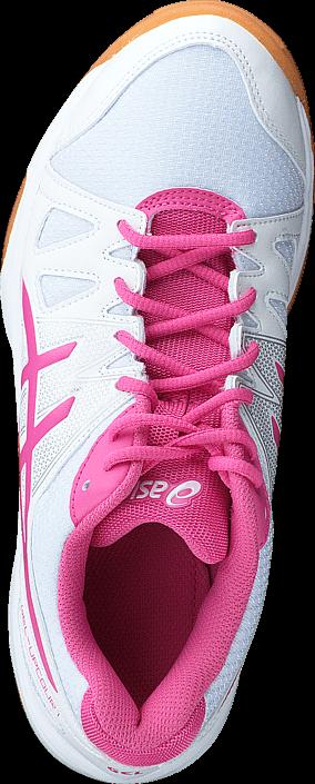 Asics Gel Upcourt Gs White / Azalea Pink / White