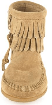 Minnetonka - Double Fringe Side Zip