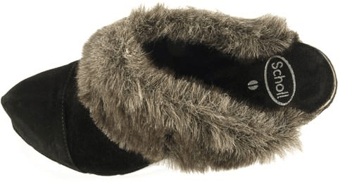 Scholl - Fur High Clog