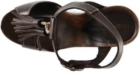 Ilse Jacobsen - Tall Slingback Leather Sandal