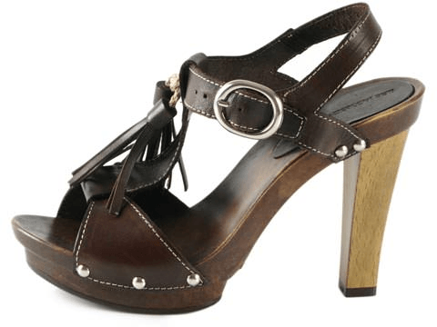 Ilse Jacobsen - Tall Slingback Leather Sandal