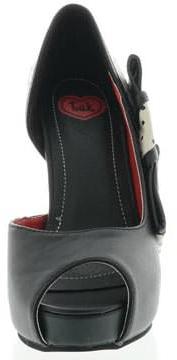 T.U.K. - Peep platform ski hi heel