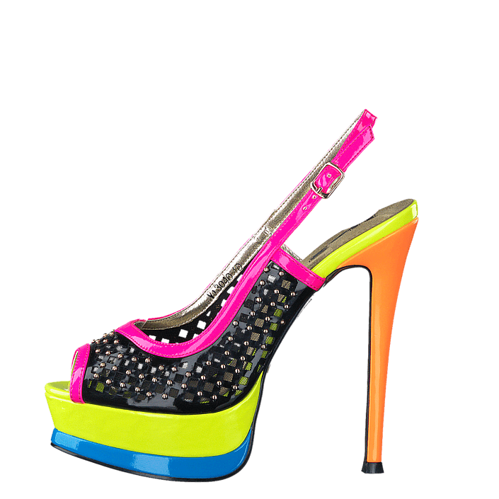 1to3 V13007, Schuhe, Absatzschuhe, Stilettos, Blau, Female, 36
