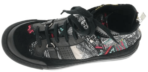 V Ave Shoe Repair - Snap Graphic Sneaker