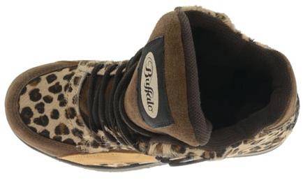 Buffalo - 1300-4 Vacca Pantera 30 nub Marron