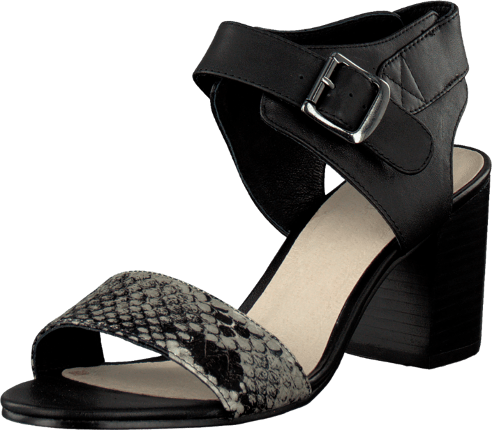 Bianco - Fame Leather Sandal