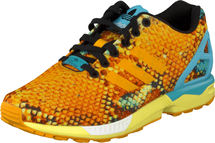 adidas Sport Performance - Zx Flux Gold/White/Bright Cyan