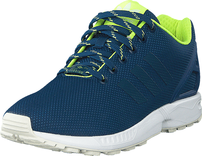 adidas Originals - Zx Flux Shadow Blue/Solar Yellow/Halo