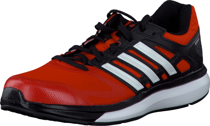 adidas Sport Performance - Snova Glide 6 K Bold Orange/Core White/Black