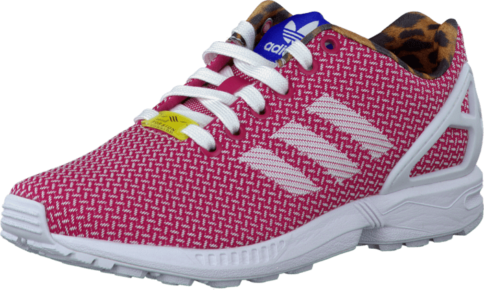 adidas Originals - Zx Flux Weave W Ftwr White/Vivid Berry/Blue