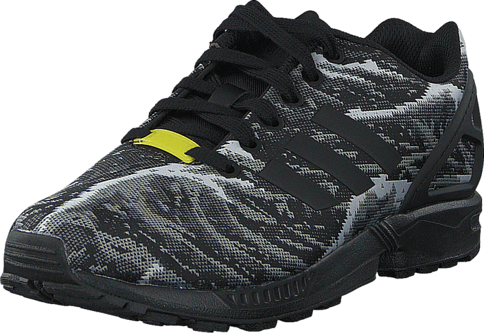 adidas Originals - Zx Flux Weave Core Black/Bright Yellow