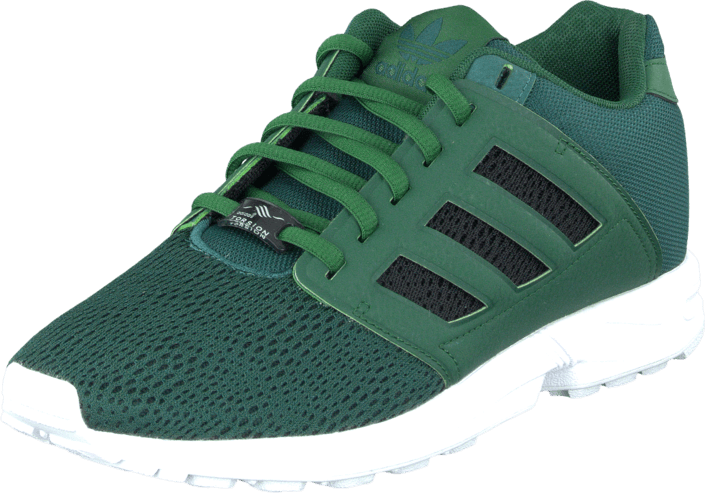 adidas Originals - Zx Flux 2.0 Green/Core Black/Rich Green