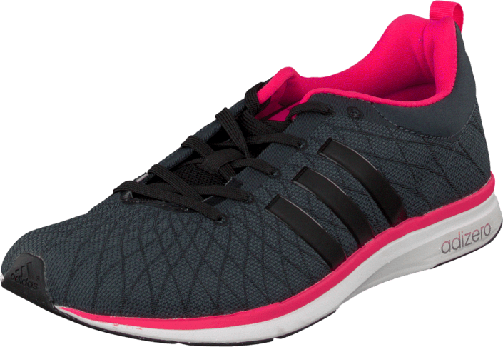 adidas Sport Performance - Adizero Feather 4 W Bold Onix/Black/Solar Pink