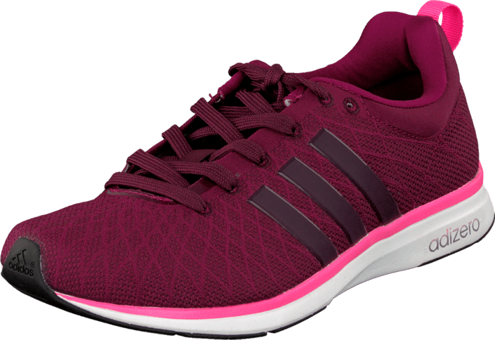 adidas Sport Performance - Adizero Feather 4 W Amazon Red/Solar Pink/Black