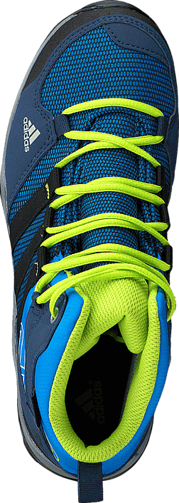 adidas Sport Performance - Ax2 Mid Cp K Shock Blue/Core Black/Slime