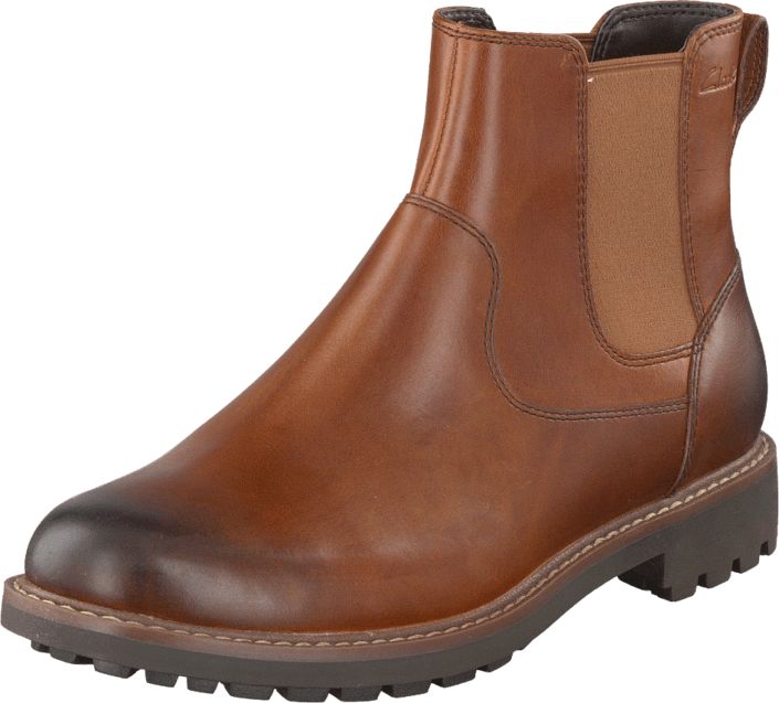 Clarks - Montacute Top Dark Tan