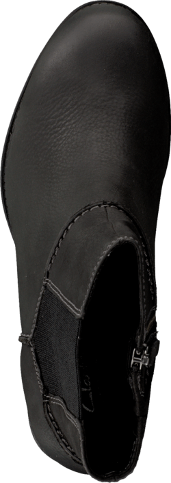 Clarks Merrigan Dane Black Wlined Lea