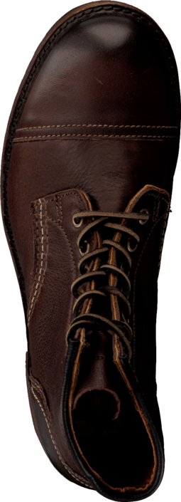 Frye - Logan Cap Toe Dark Brown
