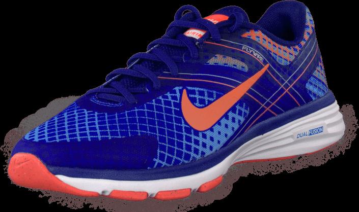 Nike W Nike Dual Fusion Tr 2 Print Hypr Cblt/Brght Mng-Mrln-Chmbr