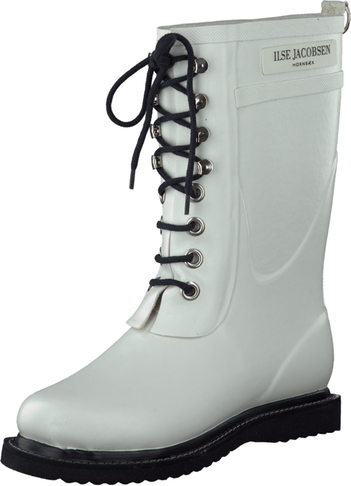 Ilse Jacobsen - 3/4 Rubber Boot White