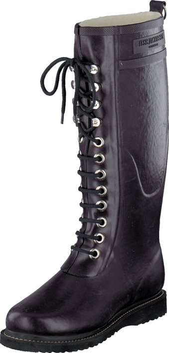 Ilse Jacobsen Long Rubber Boot Plum