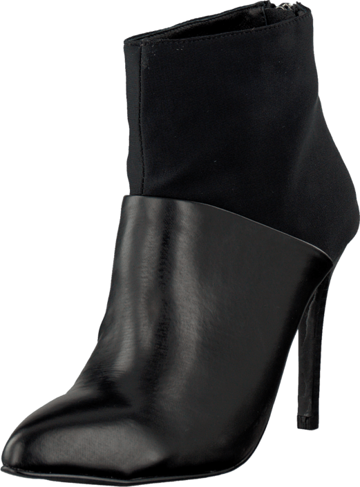 Bianco - Pointy Neoprene Boot Black