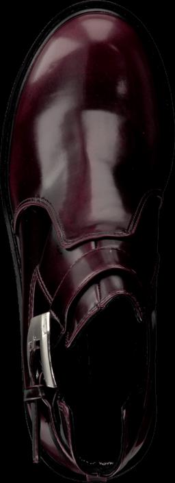 Bianco Cutout Boot Winered