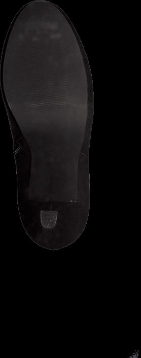 Bianco - Midhigh Zip Boot Black