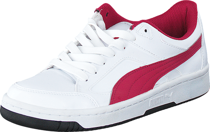 Puma - Puma Rebound V2 Lo Jr White/Cerise