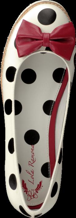 Lola Ramona - 412801-1 Cecilia White/Black Dots
