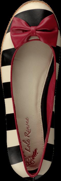 Lola Ramona - 412801-2 Cecilia White/Black Stripes