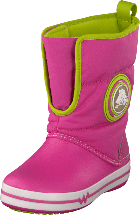 Crocs - CrocsLights Gust Boot PS Party Pink/Volt Green
