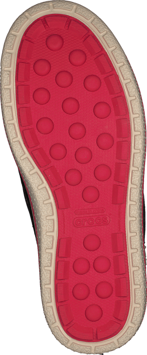 Crocs AllCast Waterproof Duck Boot W Espresso/Red