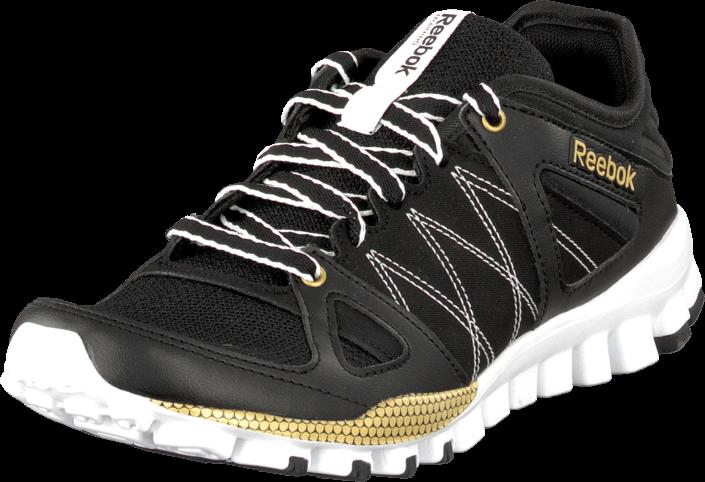 Reebok - Realflex Train Rs Black/Matte Gold/White
