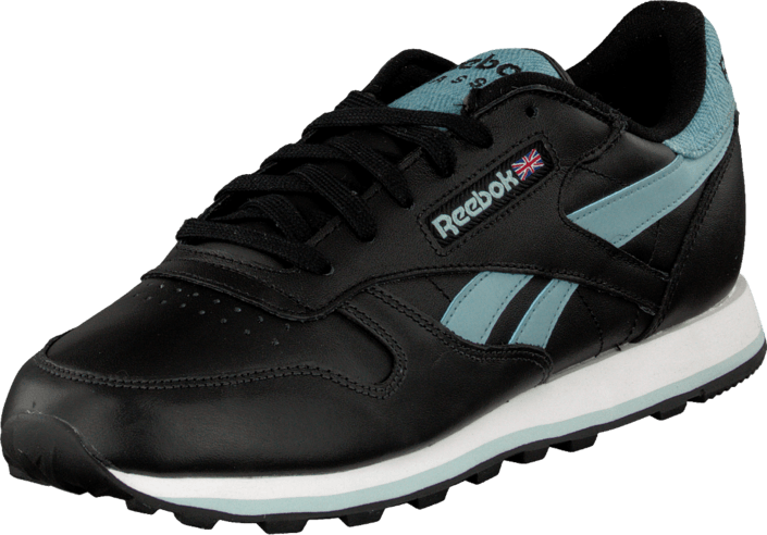 Reebok Classic - Cl Leather Pop Sc Black/Lunar Blue/Blue/White