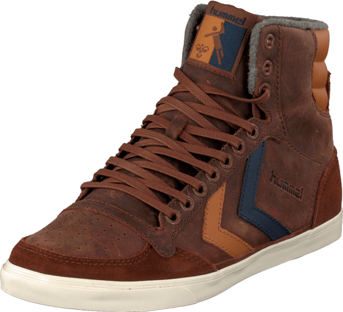 Hummel - Hummel Slim Stadil Oiled High Friar Brown