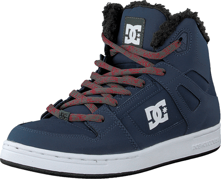 DC Shoes - Kids Rebound Wnt Shoe Navy/Grey