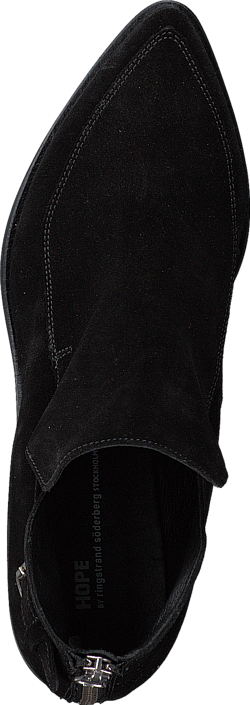 Hope - Free Boot Black Suede