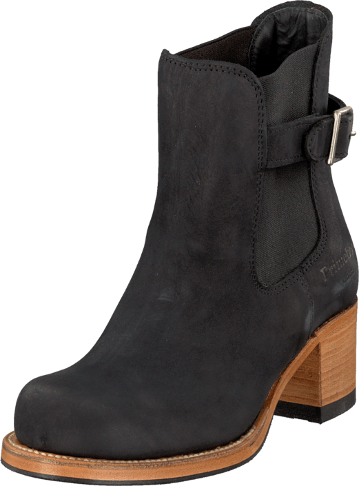 PrimeBoots - UE5 Heel-247 Nubuck Black